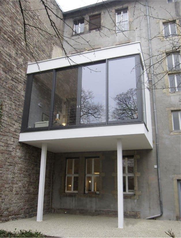 Anbau Wohnungserweiterung Bannwegbau Saarlouis