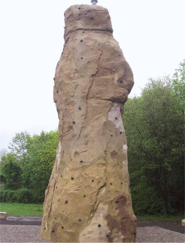 Kletterturm, Bauunternehmen Saarlouis