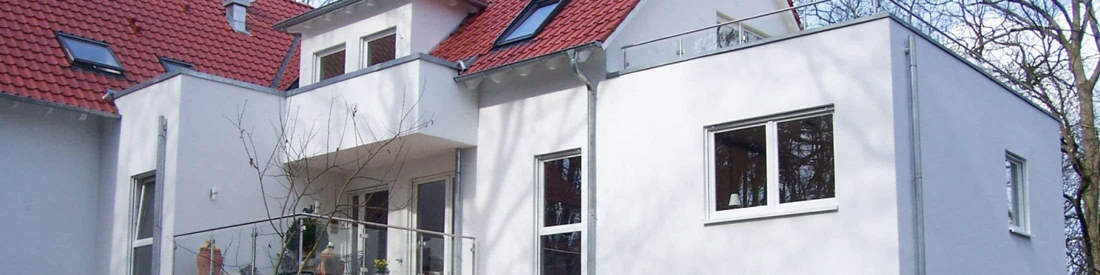 Umbau Anbau Mehrfamilienhaus Bannwegbau