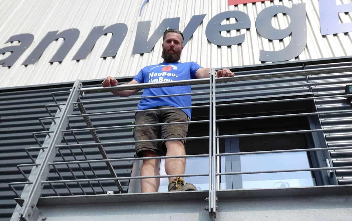 Philipp K., ich bin gelernter Maurer und seit 6 Jahren Mitglied im Team der bannwegBAU GmbH.